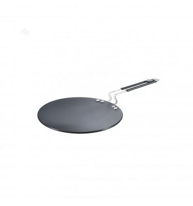 Prestige Hard Anodised Plus Cookware Induction Base Roti Tawa, 225mm, Black sku code 35035