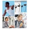 Black TWS DD9 Wireless Bluetooth Earphones Magnetic Sports Running Headset IPX5 Waterproof Sport earbuds Noise reduction