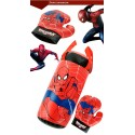 Kids Boxing Gloves Game Set Toy Sports Educational Games for Kids Decompression Anime Spider Man Outdoor Sports