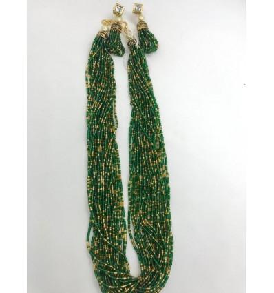 Multi layer green sea bead