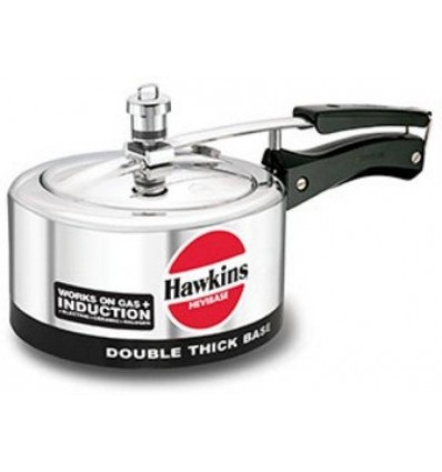 Hawkins Hevibase 2 L Pressure Cooker with Induction Bottom (Aluminium)