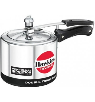 Hawkins Hevibase 3 L Pressure Cooker with Induction Bottom (Aluminium)