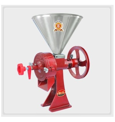 Kalsi Grinder SENIOR GRINDING MILL Without 1.5 HP Motor for Pithi Chilli Coffee Soya Oats Masala Corn and Spices Chili Soybean G