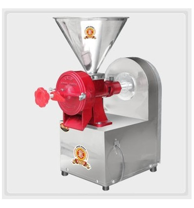 Kalsi Grinder Junior Complete Mill With 1 HP Motor Stainless Steel Body for Pithi Chilli Coffee Soya Oats Masala Corn and Spices