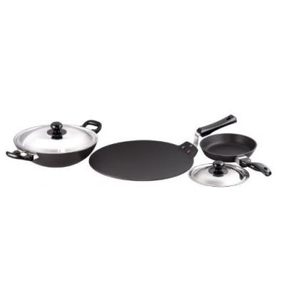 Hawkins Futura Non-Stick Cookware Set, 5 Pieces